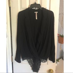 Free People body suit/shirt